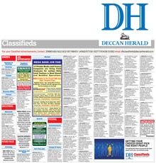 Deccan Herald Classified Epaper