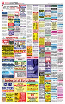 Economic Times Classified Epaper