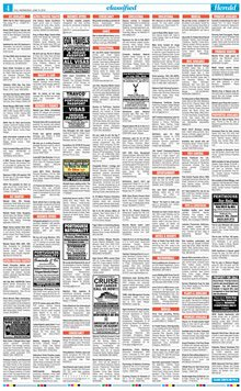 oHeraldo Classified Epaper