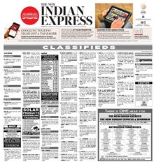 The New Indian Express Classified Epaper