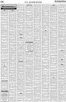 Tribune Chandigarh Advertisement Booking Centre
