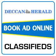Deccan Herald Classified Ad Booking