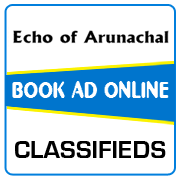 Echo of Arunachal Classified Ad Booking