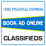 Financial Express Classified Ad Booking