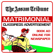 Assam Tribune Matrimonial Classifieds Booking