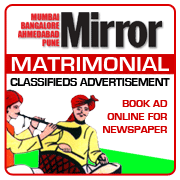 Mirror Matrimonial Classifieds Booking