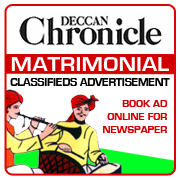 Deccan Chronicle Matrimonial Classifieds Booking