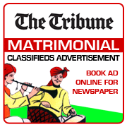 Tribune Matrimonial Classifieds Booking