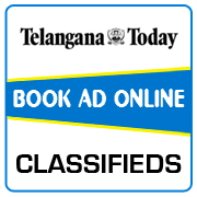 Telangana Today Classified Ad Booking