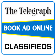 Telegraph Classified Ad Booking