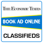 Economic Times Classified Ad Booking