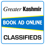 Greater Kashmir Classified Ad Booking