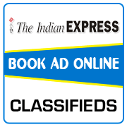 Indian Express Classified Ad Booking
