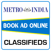 Metro India Classified Ad Booking