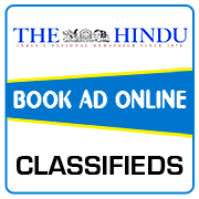 The Hindu Classified Ad Booking