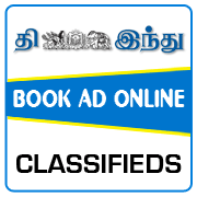 The Hindu Tamil Classified Ad Booking