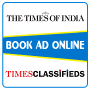 Times of India Classified Ad Booking