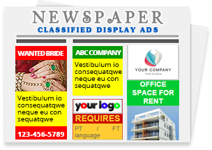 all newspaper advertisement