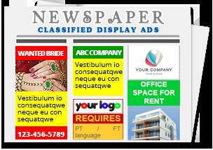 all newspaper advertisement