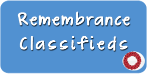 Classified Remembrance Classifieds