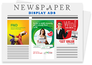 Newspaper Dispaly Advertisements
