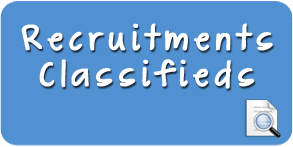 Recruitments Classifieds
